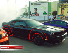 Wheel Arch Extensions (Fender Flares) for Dodge Challenger 2008-2013 | SCL-P™