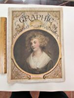 "Vintage Newspaper, THE GRAPHIC,Christmas 1890,Color Illustrations,16 1/4""Tall"