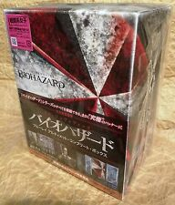 RESIDENT EVIL 1-6 BIOHAZARD Ultimate Complete Box Set Blu-Ray 3D+2D JAPAN Ltd Ed