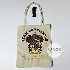 Primark HARRY POTTER TEAM GRYFFINDOR Canvas Tote RESUABLE BAGS
