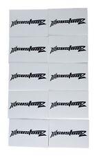 """10 Pack Oversized 1/0 AWG 0 Gauge 3/4"""" Diameter Heat Shrinks WHITE"""