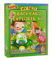 Scientific Explorer Backyard Science Project Lab Kit Ages 4+ New Toy Fun Play