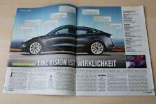 Auto Bild 27029) Tesla Model 3 im ersten Fahrbericht auf 3 Seiten