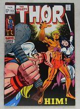 Thor #165 $2000 (1969, Marvel) 7.5 VF- WHITE PAGES! 1st Him/Adam Warlock CGC IT