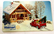 LIMITED  HOLIDAY TRUCK FD-49039 GIFT CARD FROM WALMART BILINGUAL NO VALUE *new*