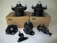 2003-2005 - SET OF 3 ENGINE & 3 TRANSMISSION MOUNTS FOR ACCORD 3.0L, 6 cyl, A/T.