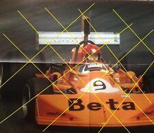 Poster Vittorio Brambilla  March 751 1975 Formule 1 Sport automobile
