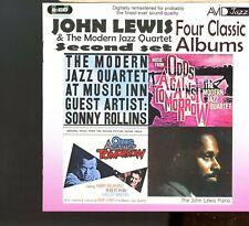 Avid Jazz - John Lewis - Second Set - Four Classic Albums - 2CD - MINT