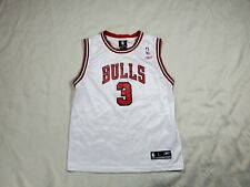 Reebok Nba Basketball Chicago Bulls Ben Wallace #3 Jersey Boys Youth Large