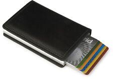 Kartenetui secrid RFID Cardprotector Slimwallet Leder schwarz