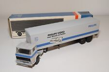 ± LION CAR DAF 2300 TRUCK WITH TRAILER PHILIPS VIDEO NEAR MINT BOXED