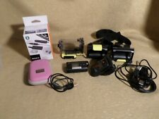 Sony HDR-AS15 SteadyShot  Wi/Fi camera  Camcorder & RM-LVR1 Live View controller