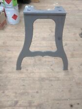 Cast iron machine legs for dining or kitchen vintage industrial table Raw finish