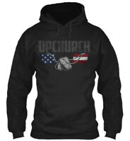 Upchurch Family Honors Veterans Gildan Hoodie Sweatshirt