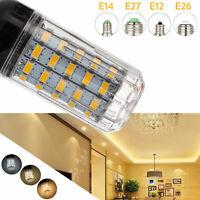 LED Corn Bulb E27 E14 E12 5730 SMD 24 - 108LEDs Light Lamp 110V 220V DC 12V 24V