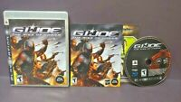 G.I. Joe Rise of  Cobra - Sony PlayStation 3 PS3 Game COMPLETE Tested - 1 owner