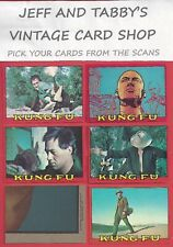 1973 TOPPS KUNG FU TRADING CARDS you pick from scans