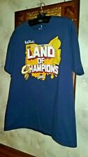 LAND OF CHAMPIONS The 2016 NBA Finals Champions T-Shirt CLEVELAND CAVALIERS - Lg