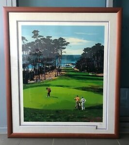 Fine Art Print - Limited Edition Mark King - 5th at Spyglass No#54 of 75