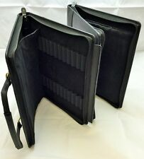 96 PEN LEATHER BRIEFCASE BY NORTHUMBRIAN PEN COMPANY