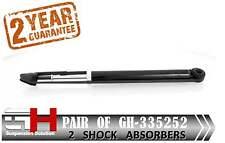 2 NEW REAR GAS SHOCK ABSORBERS FOR OPEL AGILA 2007->, SUZUKI SWIFT  /GH 335252/
