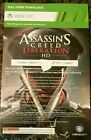 Xbox 360 Assassins Creed Liberation HD Full Game Voucher Card Only rare