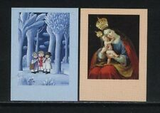 SLOVENIA  Scott # 241-42 IMPERFORATED PROOF Christmas
