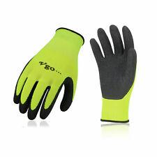 Vgo 3pairs Latex Rubber Coated Gardening Gloves Work Glovesrb6023