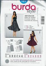 Burda 7473 Sewing Pattern Misses' Skirt & Tops sizes 10 - 20  uncut