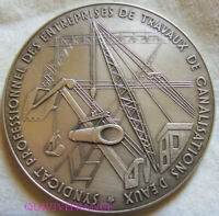 MED10621 - MEDAILLE SOCIETE NORMANDE D'ELECTRIFICATION & DE CANALISATIONS 1982