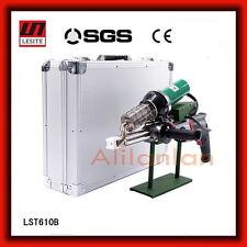 Lesite Plastic Extrusion Welding machine Hot Air Pvc Welder Gun extruder LST610B
