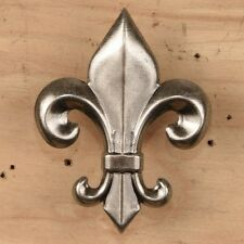 Large Fleur de Lis Tack ~ Decorative Upholstery Craft Nail { Set of 4 } by Pld