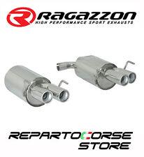 RAGAZZON SCARICO SDOPPIATO TERMINALI TONDI SFALSATI ALFA SPIDER 3.2JTS V6 / Q4