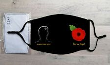 The Rifles Remembrance Poppy Face Mask