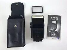 Canon Speedlite 199a Flash Instructions Case Diffuser Canon A-1 Ae-1p Ae-1 - A29