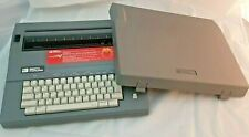 VINTAGE SMITH CORONA ELECTRIC TYPEWRITER in own case - EXCELLENT COND model 5a