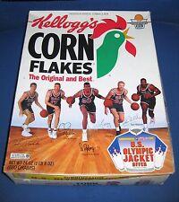 Kellogg's Corn Flakes Box Olympic USA Basketball 1991-92 Dream Team '91 '92 NBA