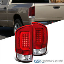 For 02-06 Dodge Ram 1500 2500 3500 Red/Clear LED Bar Tail Lights Reverse Lamps