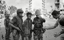 Vietnam War Viet Cong Escorted To General Nguyen Loan & Executed 8.5x11 Photo