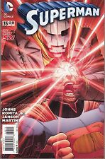 SUPERMAN #35 - JOHN ROMITA JR ARTWORK & GEOFF JOHNS - DC's THE NEW 52 - 2014