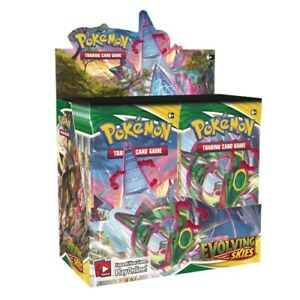 Pokemon - Sword & Shield 7 Evolving Skies - Booster Display (36 Count) - IN HAND