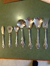 Oneida Community Brahms Stainless Steel Serving Pieces Set  Lot Of 7