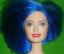 Barbie Rock 'n Roll Royals Zia Doll & Cute Outfit ~ Blue Asymetrical Hair