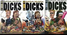 Garth Ennis Dicks Complete Series Graphic Novel Set John McCrea 1 2 3 New NM
