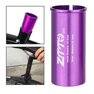 Bicycle Seatpost Shim 60mm Long Seat Post Adapter for BMX Cycling Parts