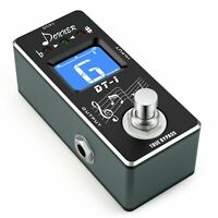 Donner Dt-1 Chromatic Guitar Tuner Pedal True Bypass NEW - FAST FREE SHIPPING