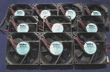 10 pcs  NIDEC Beta SL Server Cooling Fan 80mm 12V, 0.13A, 35 CFM D08T-12PHR 12PH