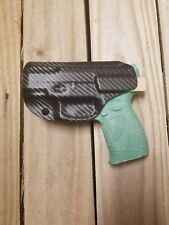 CONCEALMENT TAURUS PT 111/140 MILLENNIUM G2 IWB BLACK CARBON KYDEX HOLSTER RIGHT
