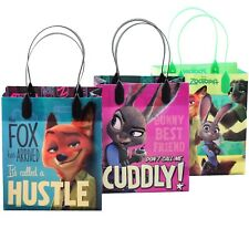 12PCS Disney Zootopia Authentic Goodie Party Favor Gift Birthday Loot Bags