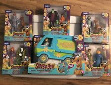 Scooby Doo 50th Anniversary Action Figure & Mystery Machine Complete Collection